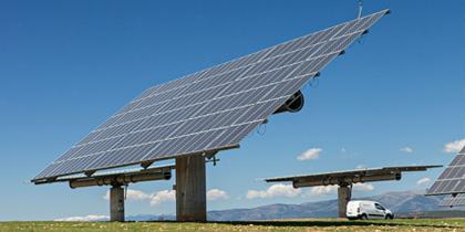 Paneles fotovoltaicos con seguimiento